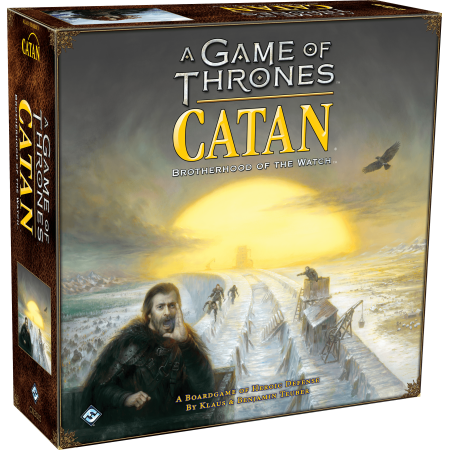 A Game of Thrones Catan: Brotherhood of the Watch Strategy Board