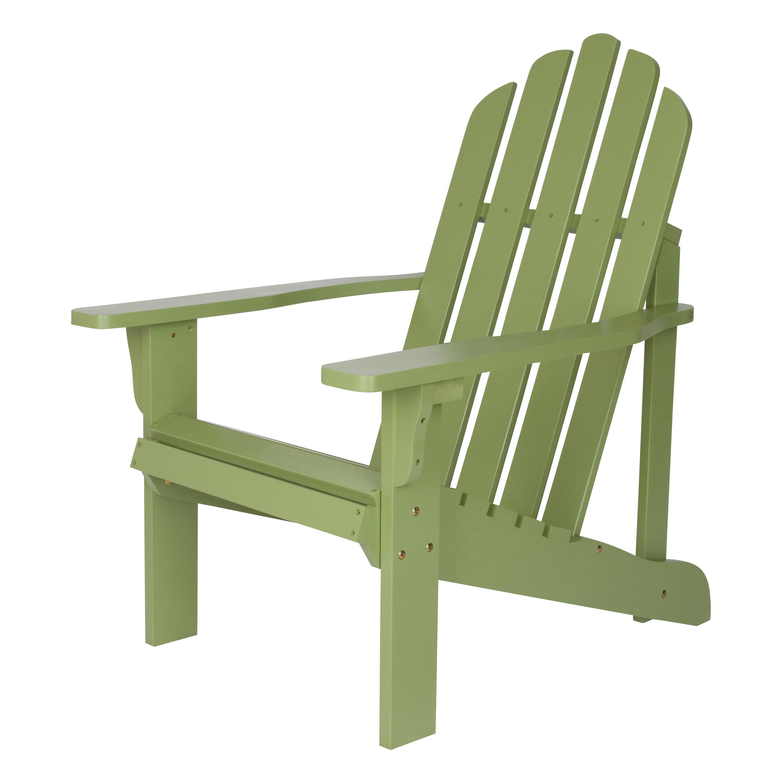 Shine Company Marina Adirondack Chair - Leap Frog