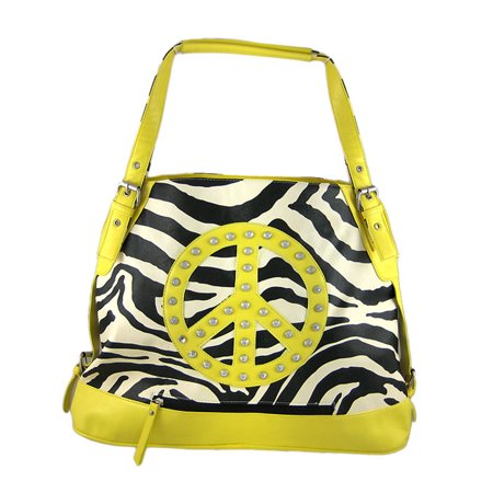 Black / White Zebra Print Bucket Bag Purse (Zebra Print Shoulder Bag)