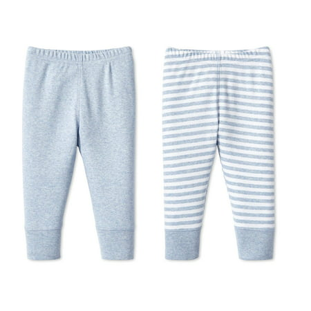 Lamaze Organic Cotton Pants, 2pk (Baby Boys)