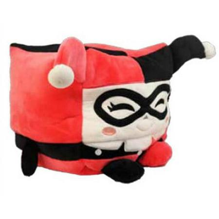 """Kawaii Cube Plush, 8"""", Harley Quinn"""