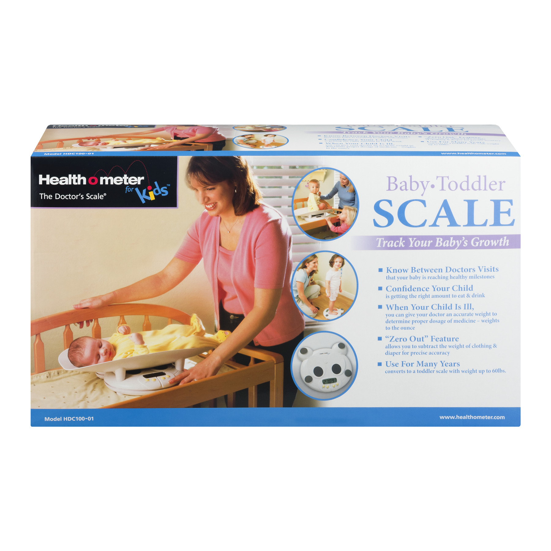 Health O Meter Baby Toddler Scale, 1.0 CT