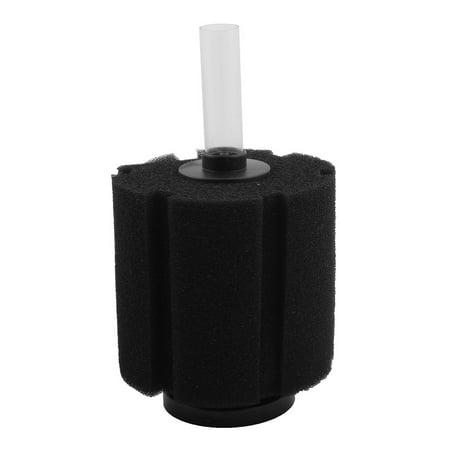Aquarium Fish Tank Biochemical Water Plastic Tube Sponge Filter 12cm Dia Black - Diy Fish Tank