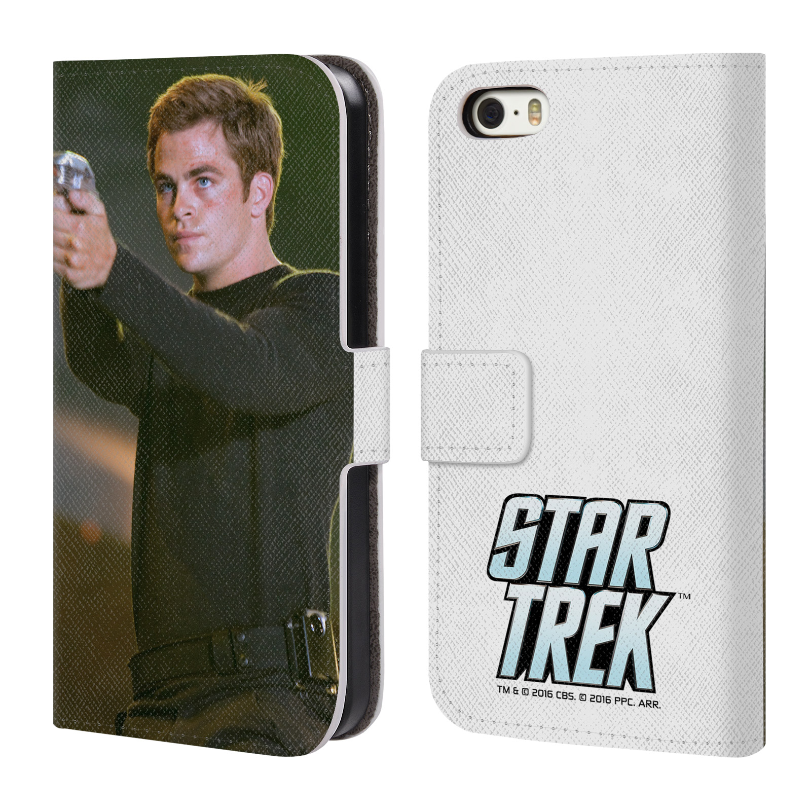 OFFICIAL STAR TREK MOVIE STILLS REBOOT XI LEATHER BOOK WALLET CASE COVER FOR APPLE IPHONE PHONES