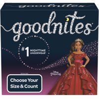 Goodnites Girls Bedtime Bedwetting Underwear (Choose Size & Count)