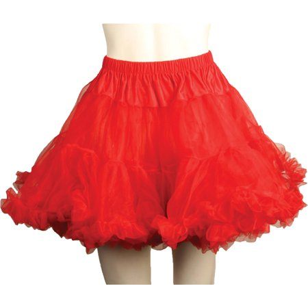 Morris Costumes Womens Petticoat Tulle Plus Red One Size, Style UA8990RDPL