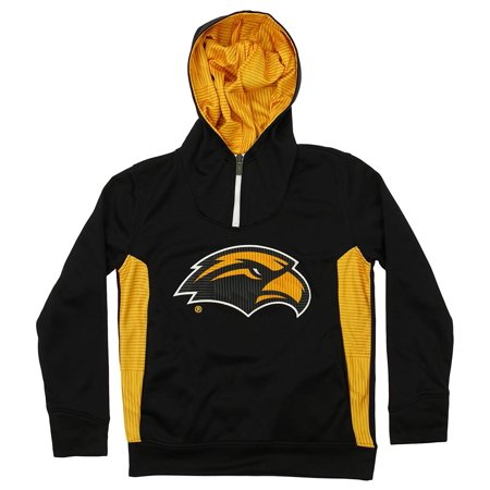 Outerstuff NCAA Youth Southern Miss Golden Eagles Performance 1/4 Zip Hooded