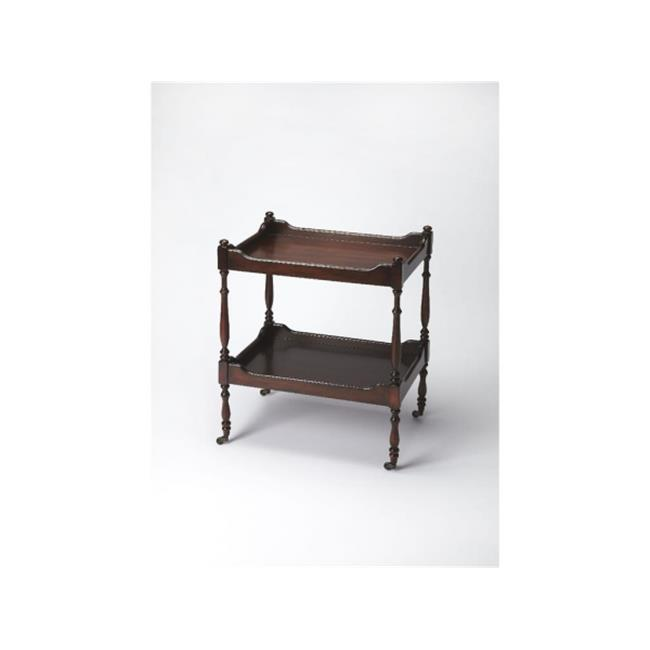 BUTLER 3523024 30 in. Cherry Serving Cart by