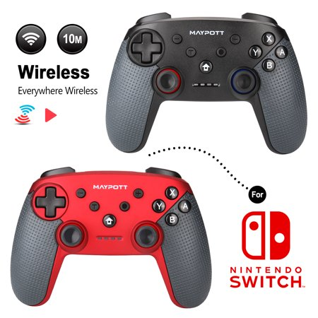 Wireless Pro Controller Remote Gamepad for Nintendo Switch Console  Bluetooth Connection Support PC