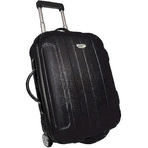 Traveler's Choice Rome 21'' Hard Shell Rolling Upright Luggage