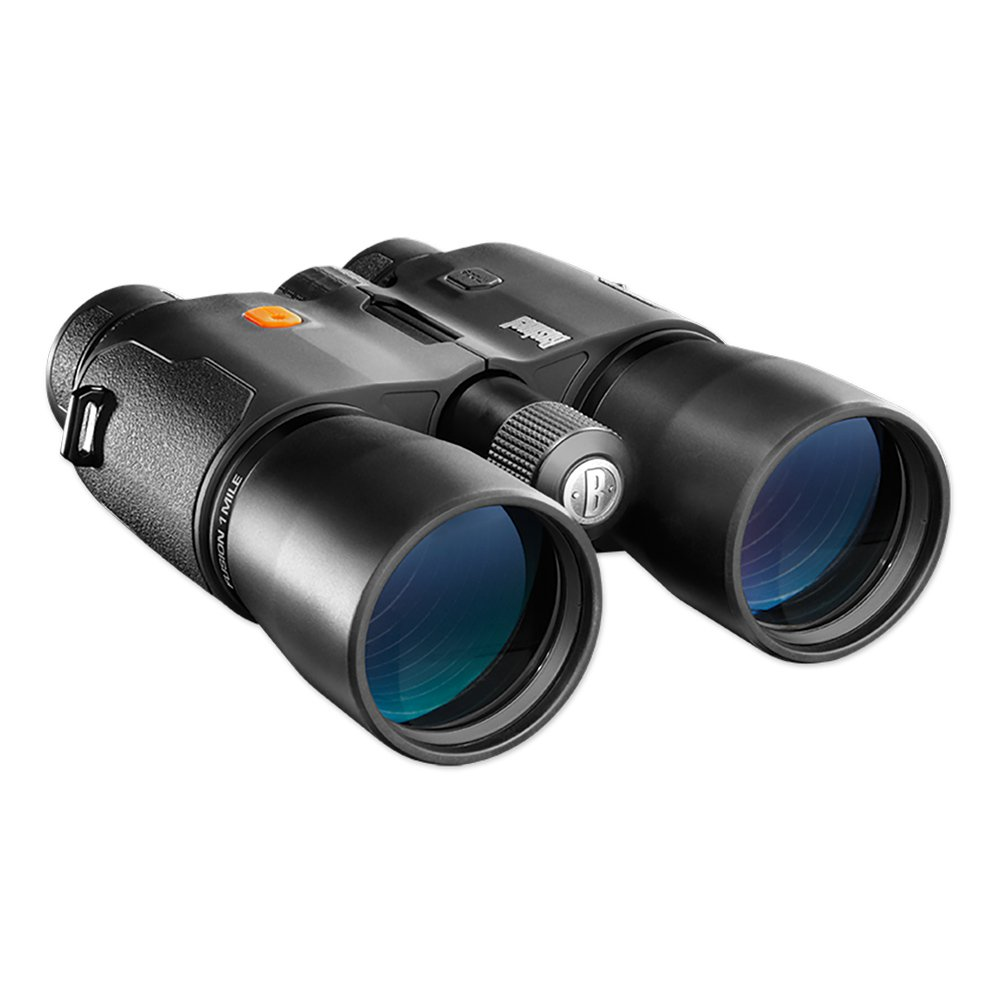 Click here to buy Bushnell Fusion 12x 50mm 1 Mile ARC Waterproof Hunting Binoculars w  Rangefinder by Bushnell.