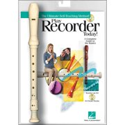 Hal Leonard Play Recorder Today! Book/Online Audio with Recorder Instrument