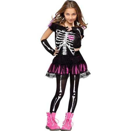 Sally Skelly Child Halloween Costume