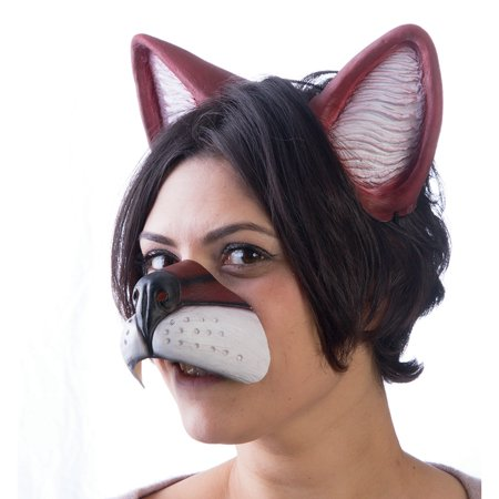 What's Up Fox Adult Costume Ear Headband & Nose Set - Pig Ears And Nose Costume