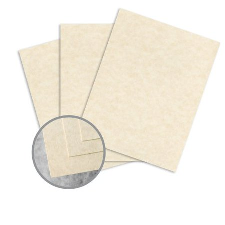 - Skytone Natural Card Stock - 8 1/2 x 11 in 65 lb Cover Vellum 30% Recycled 250 per Package
