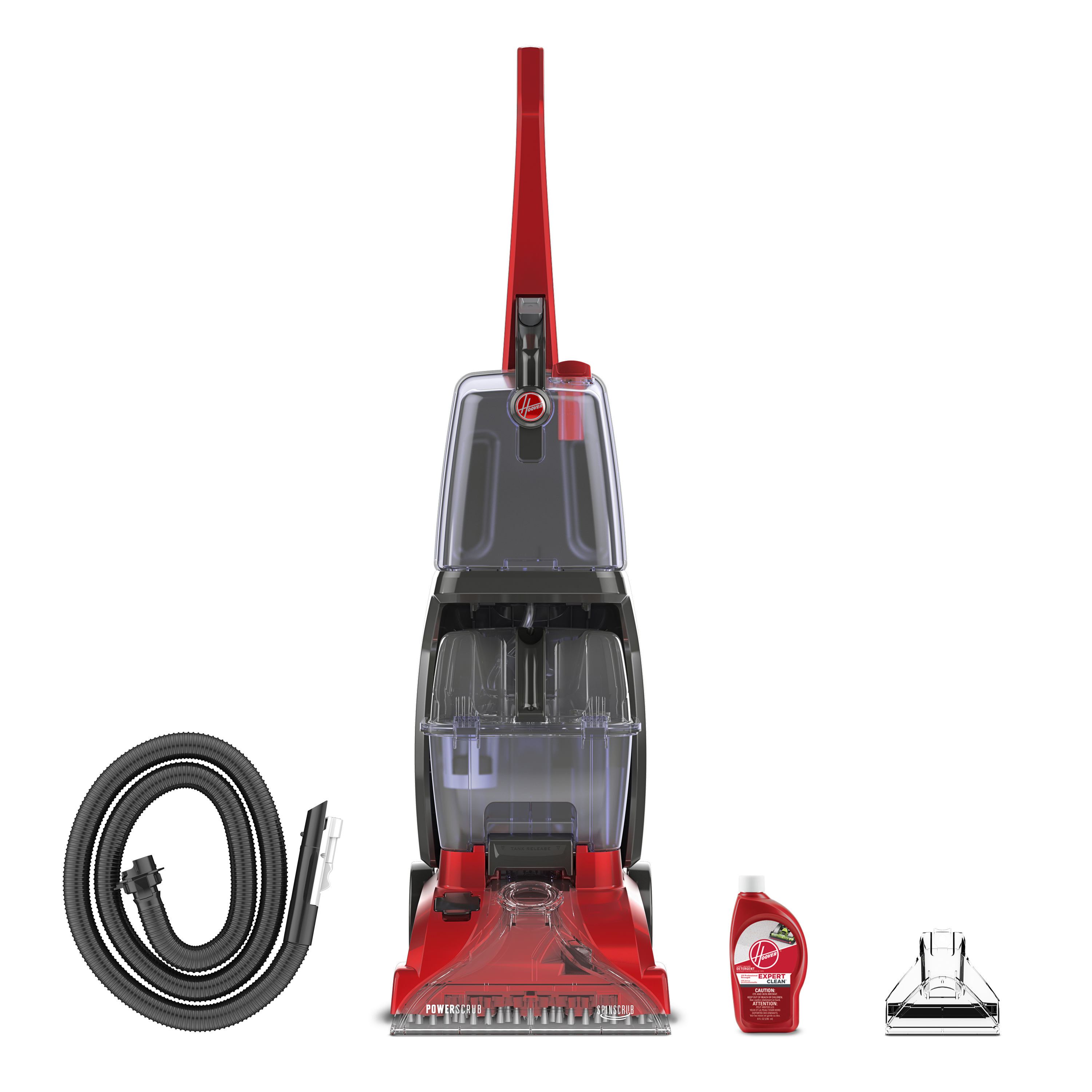 Hoover Power Scrub Carpet Cleaner w/ SpinScrub Technology, FH50135