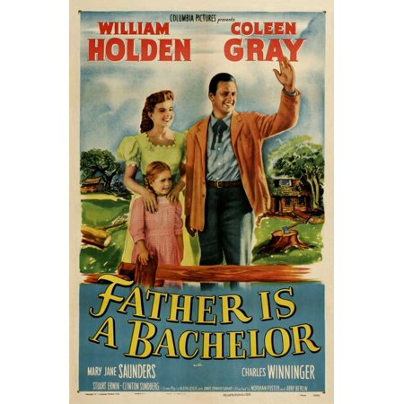 Father Is a Bachelor - movie POSTER (Style A) (27