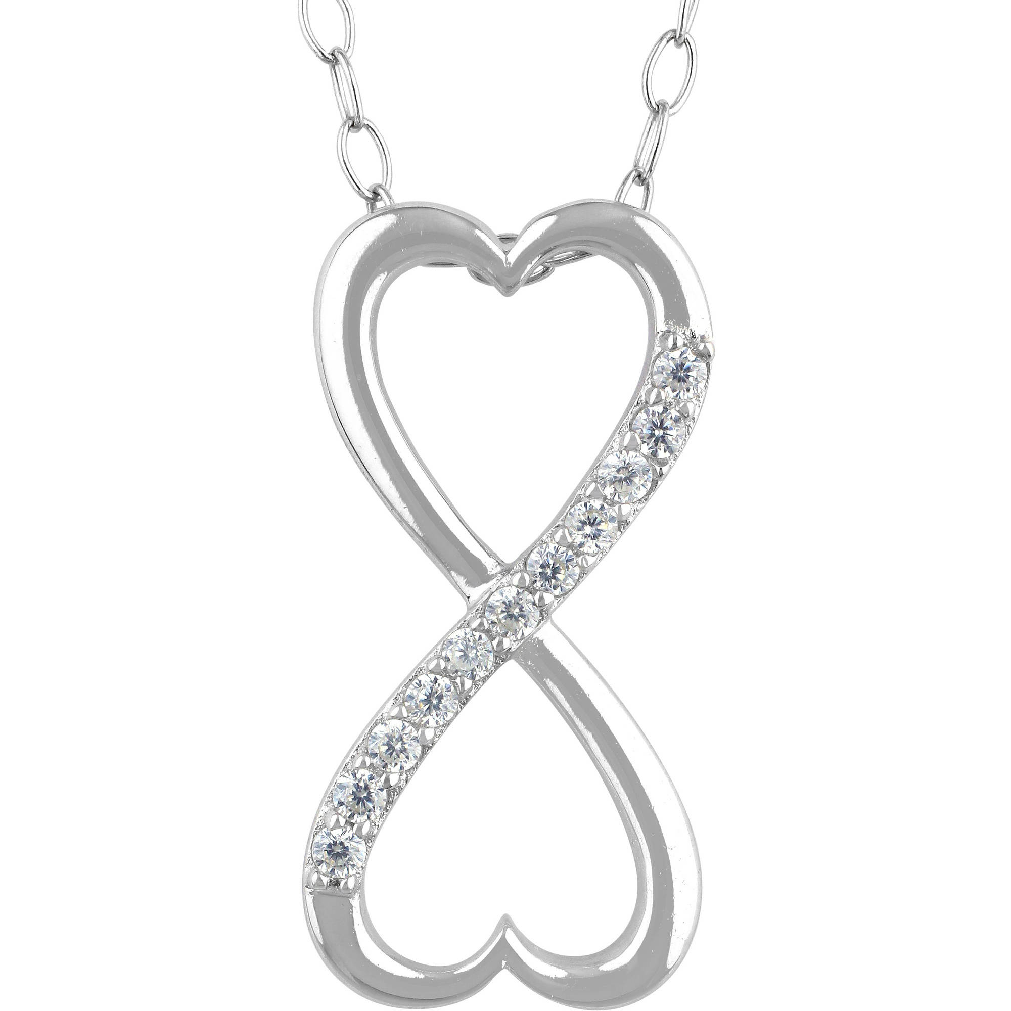 silver carrie ss products infinity k necklace sterling