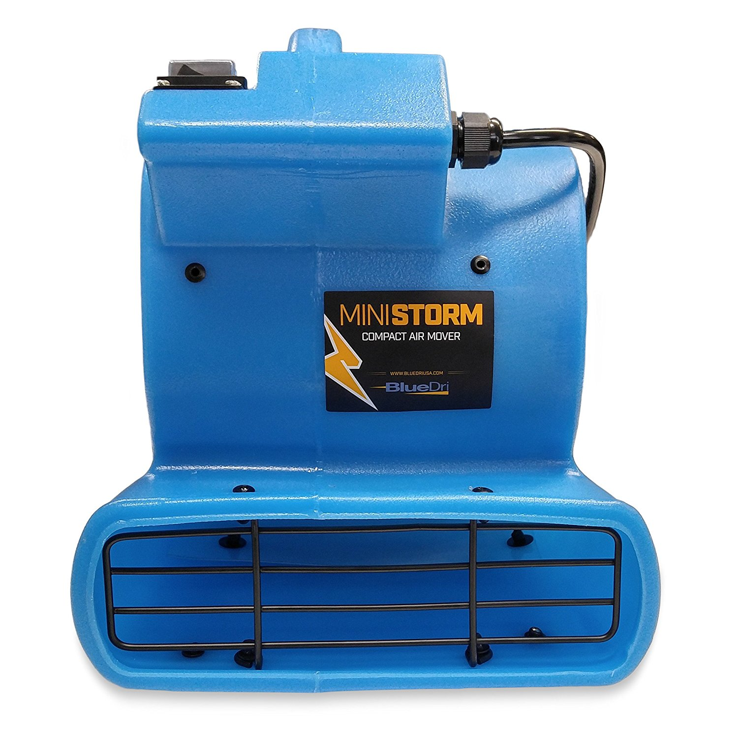 Soleaire Mini Storm 1/12 HP Mini Air Mover Carpet Dryer Floor Blower Fan for Home Use, Blue