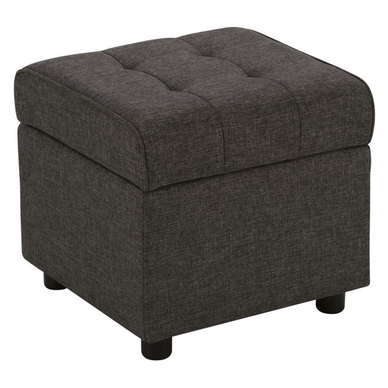 DHP Emily Square Tufted Storage Ottoman, Available in Various Colors by Dorel Home Products
