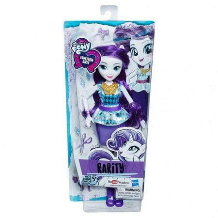Hasbro HSBE0630 My Little Pony Equestria Girls Dolls Rarity, 6 Count