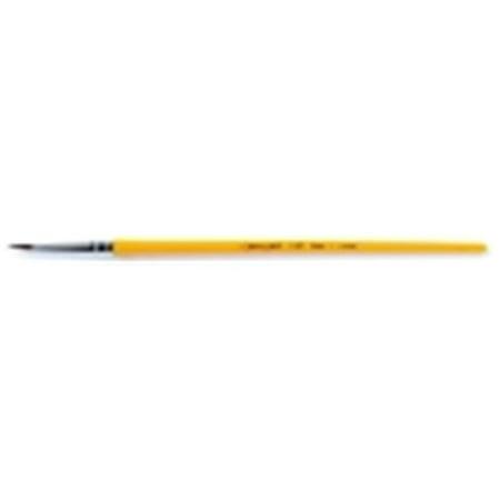 Crayola Round Economy Good Grade Short Plastic Handle Watercolor Paint Brush - Size 10, 1.31 in.