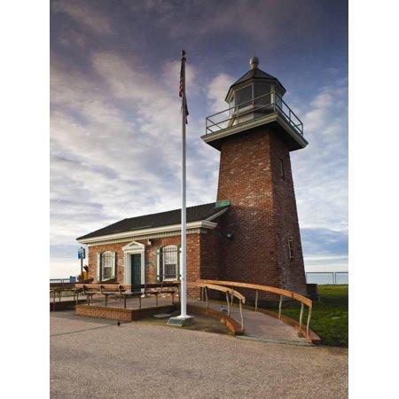 Lighthouse Surfing Museum, Lighthouse Field State Beach, Santa Cruz, Central Coast, California, Usa Print Wall Art By Walter Bibikow - Halloween Parties Central Coast