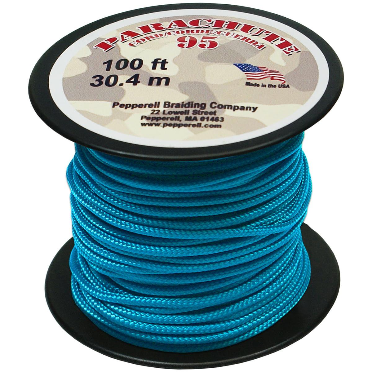 Pepperell Parachute Cord 95, 100\' Roll - Walmart.com