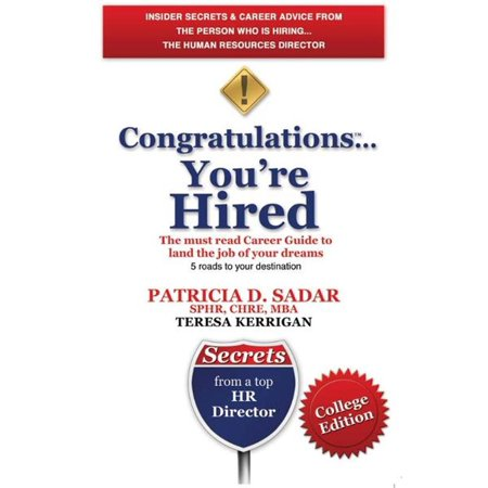 Congratulations... You're Hired! The must read Career Guide to land the job of your dreams - eBook](Nyc Jobs Hiring)