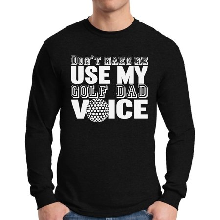 4a92dd482 Awkward Styles - Awkward Styles Men's Golf Dad Voice Funny Graphic Long  Sleeve T-shirt Tops Father's Day Gift Best Golfer Gift - Walmart.com