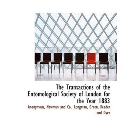 The Transactions of the Entomological Society of London for the Year 1883 - image 1 of 1