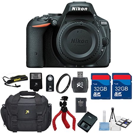 Nikon D5500 Dx Dslr  Body Only    Top Value Bundle   International Version  No Warranty