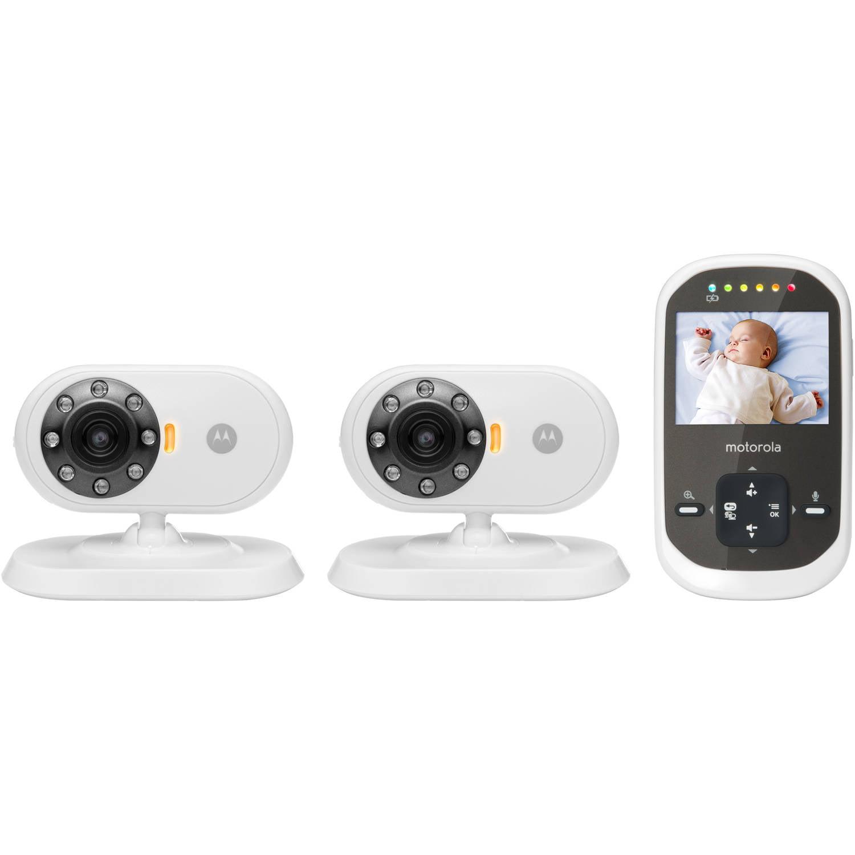 Motorola MBP25-2, Video Baby Monitor, 2 Cameras