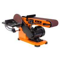 WEN 3.2-Amp 4 x 36-Inch Belt and 6-Inch Disc Sander with Steel Base, 6500T