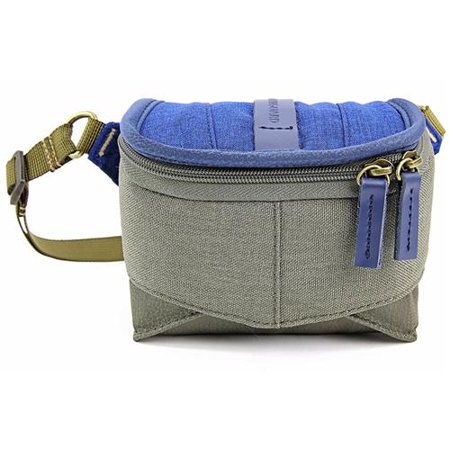 Vanguard VEO Travel 9H Pouch for a Compact System Camera with Pancake Lens, 1.32lbs Capacity, Blue &