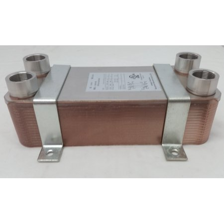 - 30 Plate Water to Water Brazed Plate Heat Exchanger 1