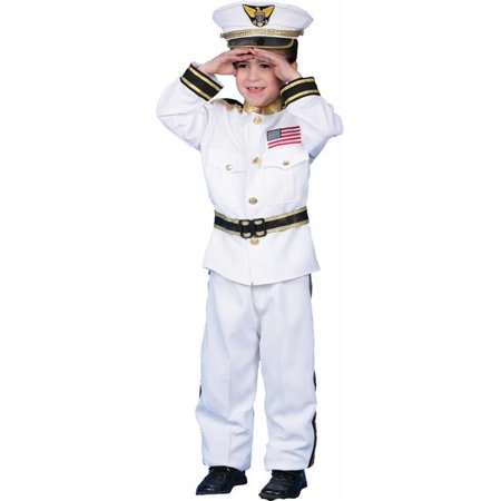 Costumes For All Occasions Up229Sm Navy Admiral Small 4 To 6](Admiral Ackbar Costume)