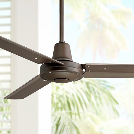44 Casa Vieja Industrial Outdoor Ceiling Fan With Remote Control