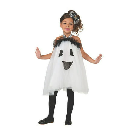 Halloween Ghost Tutu Dress Infant/Toddler Costume (Halloween Costume White Dress)
