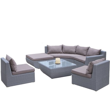 Noble House Dustin Outdoor Sectional Set
