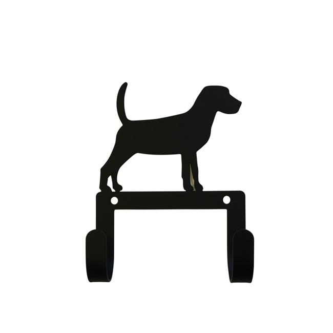 Village Wrought Iron WH-LC-236 Beagle Leash & Collar Wall Hook - image 1 of 1
