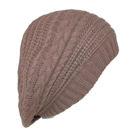 a881bf65ad3c9 Scala - Size one size Women s Slouchy Beret Hat - Walmart.com