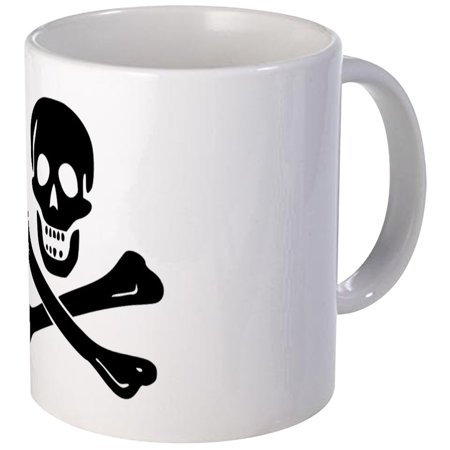 CafePress - Jolly Roger Pirate Mug - Unique Coffee Mug, Coffee Cup CafePress - Pirate Mug
