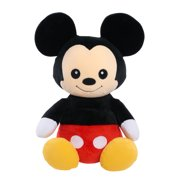 Disney Classics 14-Inch Mickey Mouse, Comfort Weighted Plush, Ages 3 +