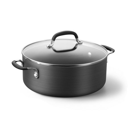 Simply Calphalon Nonstick 5-Quart Chili Pot with Cover,