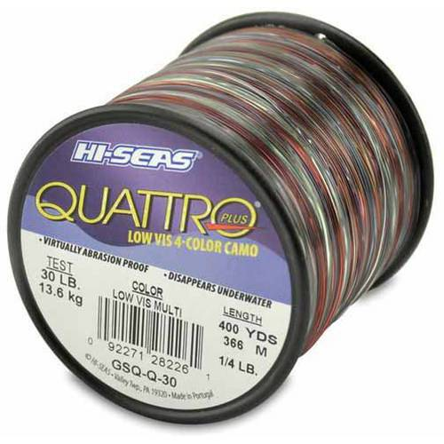 American fishing wire quattro line 30 pound spool for 30 lb fishing line