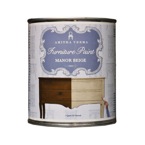 AMITHA VERMA MB32 Quart Manor Beige Chalk Paint