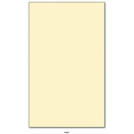 Cherry Scrapbooking Paper - Ivory - Color Paper 20lb. Size 8.5 X 14 Legal / Menu Size 50 Per Pack