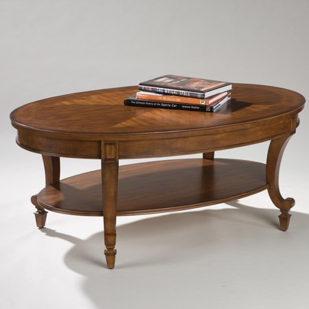 Magnussen Oval Table - Magnussen T1052 Aidan Wood Oval Coffee Table