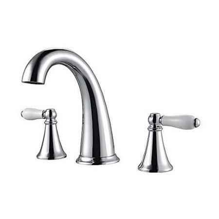 Pfister Kaylon 2-Handle 8u0022 Widespread Bathroom Faucet, Polished Chrome